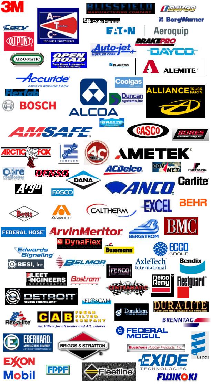 Manufacturer Parts For Heavy Duty Trucks Medium Duty ...